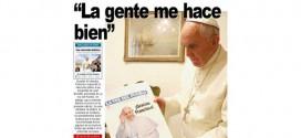 1-Francisco conta, a jornal argentino, como é ser Papa