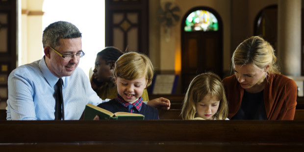 3-family-mass-pew-liturgy-parenting-children-shutterstock